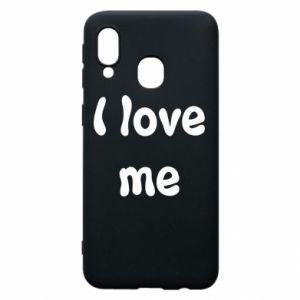 Etui na Samsung A40 I love me