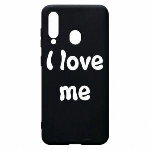 Etui na Samsung A60 I love me