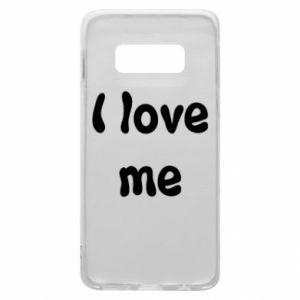 Etui na Samsung S10e I love me