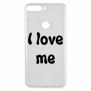 Etui na Huawei Y7 Prime 2018 I love me