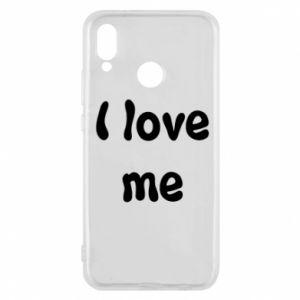 Etui na Huawei P20 Lite I love me
