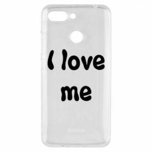 Etui na Xiaomi Redmi 6 I love me