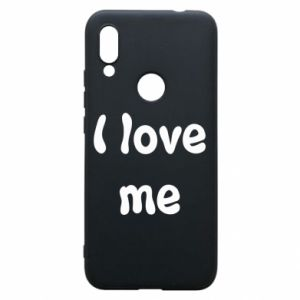 Etui na Xiaomi Redmi 7 I love me