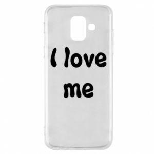 Etui na Samsung A6 2018 I love me