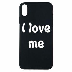 Etui na iPhone Xs Max I love me