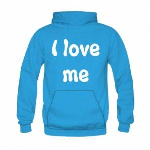 Kid's hoodie I love me