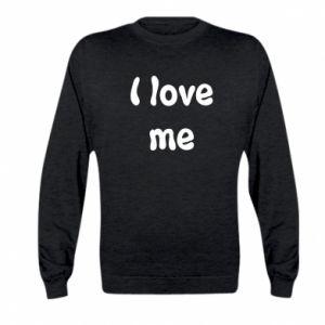 Kid's sweatshirt I love me