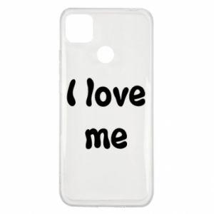 Xiaomi Redmi 9c Case I love me