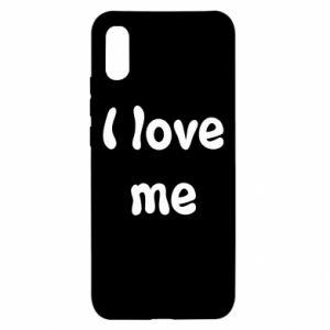 Xiaomi Redmi 9a Case I love me