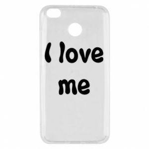 Xiaomi Redmi 4X Case I love me