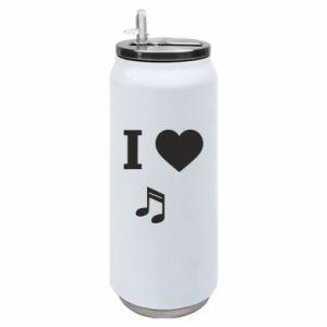 Puszka termiczna I love music