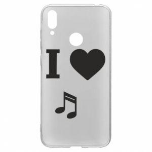 Etui na Huawei Y7 2019 I love music