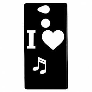 Etui na Sony Xperia XA2 I love music