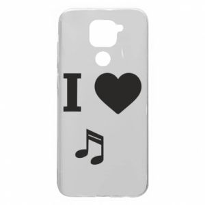 Etui na Xiaomi Redmi Note 9/Redmi 10X I love music