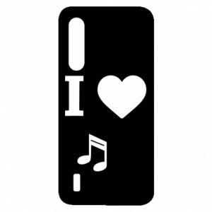Etui na Xiaomi Mi9 Lite I love music