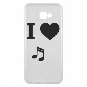 Phone case for Samsung J4 Plus 2018 I love music