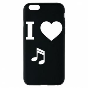 iPhone 6/6S Case I love music