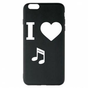 Phone case for iPhone 6 Plus/6S Plus I love music