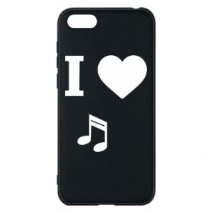Phone case for Huawei Y5 2018 I love music