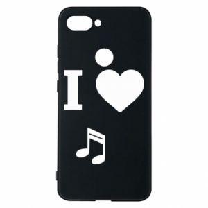 Phone case for Xiaomi Mi8 Lite I love music