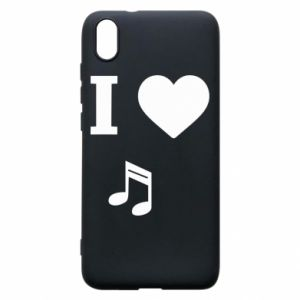 Etui na Xiaomi Redmi 7A I love music