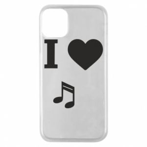 iPhone 11 Pro Case I love music