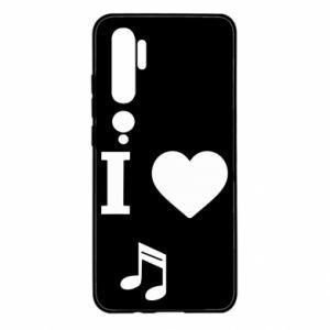 Etui na Xiaomi Mi Note 10 I love music