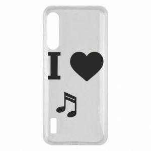 Etui na Xiaomi Mi A3 I love music