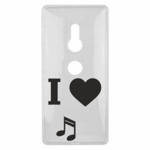Etui na Sony Xperia XZ2 I love music