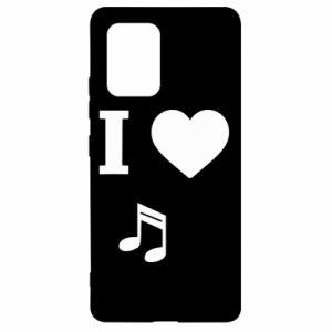 Etui na Samsung S10 Lite I love music
