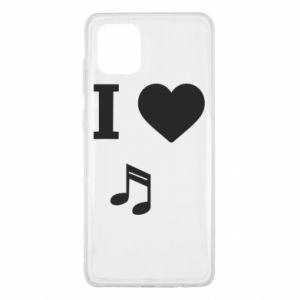 Etui na Samsung Note 10 Lite I love music