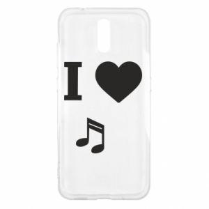 Etui na Nokia 2.3 I love music