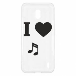 Etui na Nokia 2.2 I love music