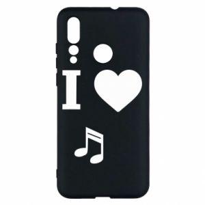 Etui na Huawei Nova 4 I love music