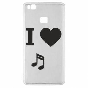 Etui na Huawei P9 Lite I love music
