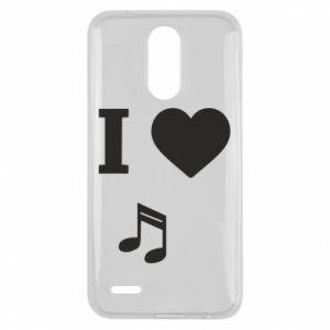 Etui na Lg K10 2017 I love music