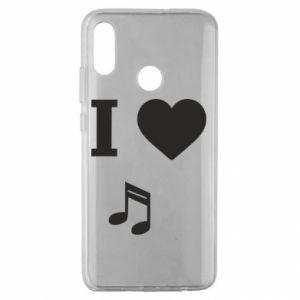Etui na Huawei Honor 10 Lite I love music