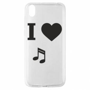 Etui na Huawei Y5 2019 I love music