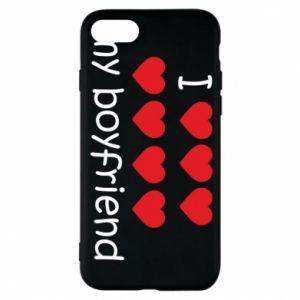Etui na iPhone 8 I love my boyfriend