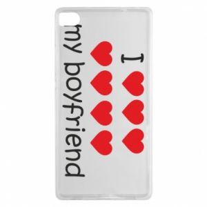Etui na Huawei P8 I love my boyfriend