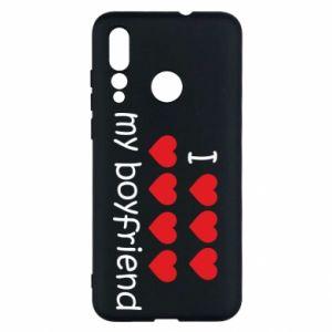 Etui na Huawei Nova 4 I love my boyfriend