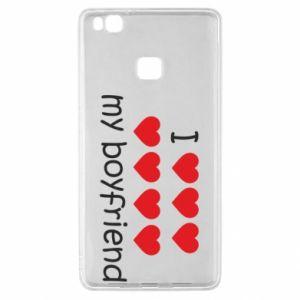 Etui na Huawei P9 Lite I love my boyfriend