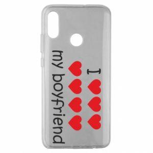 Etui na Huawei Honor 10 Lite I love my boyfriend