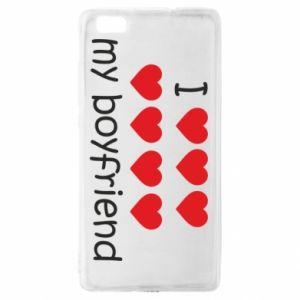 Etui na Huawei P 8 Lite I love my boyfriend