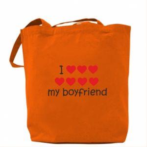 Torba I love my boyfriend