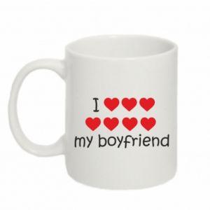 Kubek 330ml I love my boyfriend