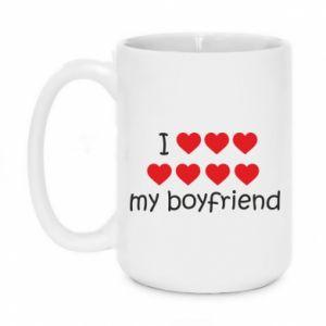 Kubek 450ml I love my boyfriend