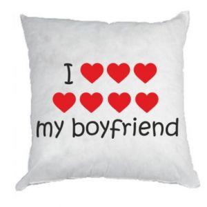 Poduszka I love my boyfriend