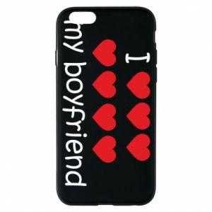 Etui na iPhone 6/6S I love my boyfriend