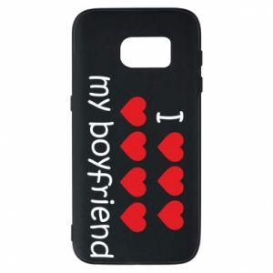 Etui na Samsung S7 I love my boyfriend
